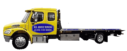 Image of Towing Truck,ALL  Above Tow Truck Company San Francisco