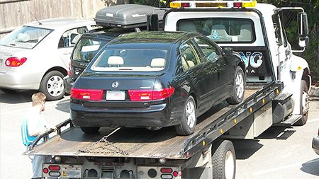 24 Hour towing service in Hayward from All Above Towing