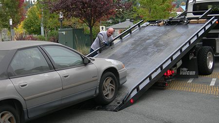Image of a Car towing,ALL Above Towing LLC,Towing service Milpitas